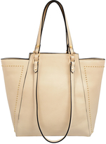 Mellow World Beige Marina Studded Tote