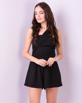 Missy Empire Sevrin Black Multiway Playsuit