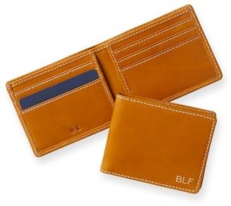 Mark & Graham Baseball Leather Wallet