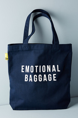 The School of Life Emotional Baggage Tote By The School Of Life in Blue Size ALL