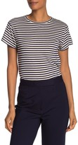 Vince Striped Short Sleeve T-Shirt