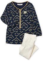 Juicy Couture Infant Girls) Glitter Print Tunic & Leggings Set