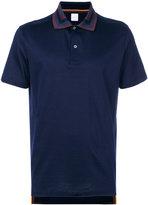 Paul Smith striped collar polo shirt - men - Cotton - S