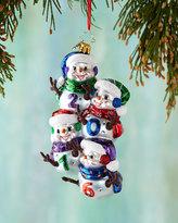Christopher Radko Dated Sheaf Christmas Ornament