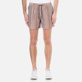 Paul Smith Men's Classic Multi Stripe Swim Shorts Multi Stripe