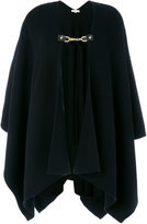 MICHAEL Michael Kors chain detail knitted poncho