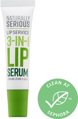 Naturally Serious Lip Service 3-In-1 Lip Serum