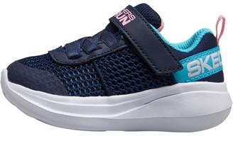 Skechers Infant Girls Go Run Fast Viva Valor Navy/Aqua