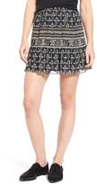 Madewell Print Miniskirt