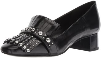 Nine West Women's WESH Leather Penny Loafer