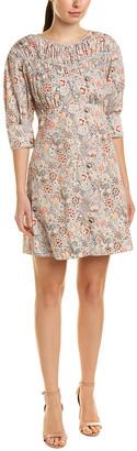 La Vie Rebecca Taylor Lotus A-Line Dress