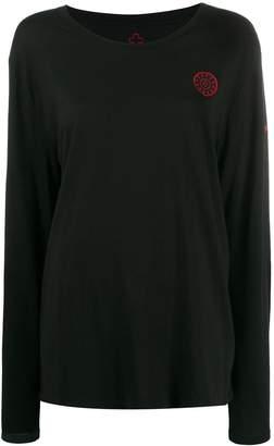 A.F.Vandevorst logo patch long sleeve top