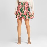 ISANI for Target Women's Floral Printed Pleated Skirt