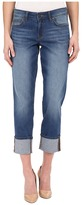 CJ by Cookie Johnson Witness Cuffed Slouchy Jeans in Rose Marie