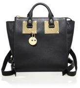 Sophie Hulme Small Holmes Leather Mini Backpack