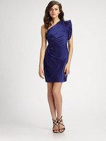 ABS by Allen Schwartz Silk Satin Dress