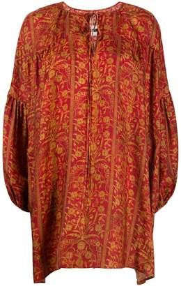 UMA WANG floral-print mini dress