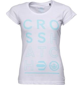 Crosshatch Womens Brianna T-Shirt White