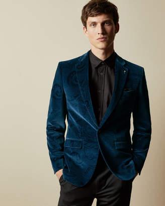 Ted Baker CUOCO Pashion velvet jacket