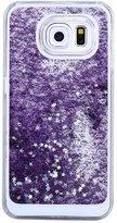LUQUAN Trend Glitter Star Liquid Back Phone Case Cover For Samsung Galaxy S7