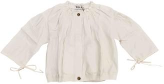 Teija Ecru Linen Jacket for Women
