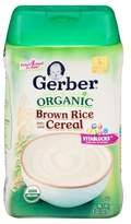 Gerber Organic Single Grain Rice Baby Cereal - 8 oz