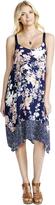 Motherhood Jessica Simpson Hanky Hem Maternity Dress