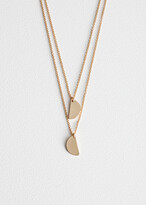And other stories Half Moon Necklace