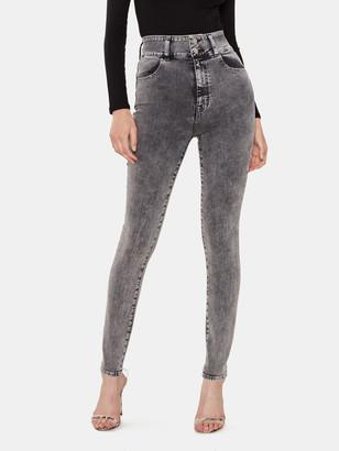 J Brand Elsa Saturday Super High Rise Skinny Ankle Jeans