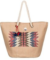 Roxy Sun Seeker Tote Beach Bag