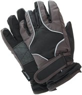 FLOSO Childrens/Kids Heavy Duty Waterproof Padded Thermal Ski/Winter Gloves