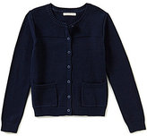 Copper Key Big Girls 7-16 Button-Front Cardigan
