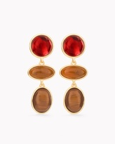 Chico's Scarlet Clip-on Earrings