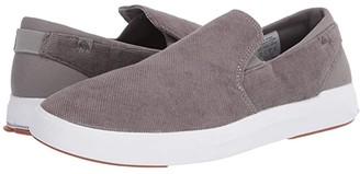 Quiksilver Surf Check II Premium (Grey/Grey/White) Men's Shoes