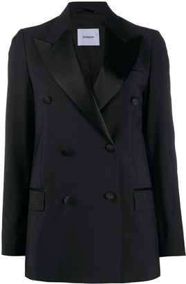 Dondup Double-Breasted Tuxedo Blazer