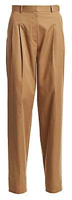 The Row Women's Moi Cotton Trousers - Size 0