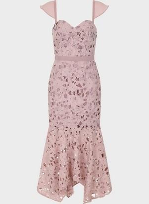 Dorothy Perkins Womens Chi Chi London Mink Ramona Dress, Mink
