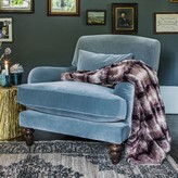 Graham and Green Kensington Armchair And Footstool