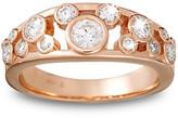 Disney Diamond Icon Mickey Mouse Ring for Women - 14K Rose Gold