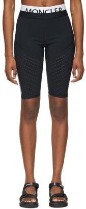 Moncler Black Logo Bike Shorts