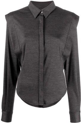 Isabel Marant Structured Shoulder Shirt