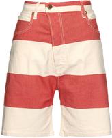 Vivienne Westwood Bliss Bell striped denim shorts