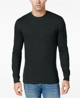 Club Room Men's Long Sleeve Pocket T-Shirt, Only at Macy's