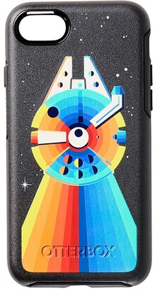 Disney Millennium Falcon Rainbow iPhone 8/7/SE (2nd Generation) Case by OtterBox Star Wars