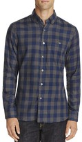 Todd Snyder Buffalo Check Regular Fit Button Down Shirt