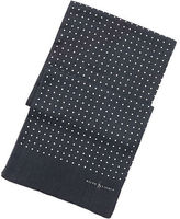 Polo Ralph Lauren Dotted Linen-Cotton Scarf