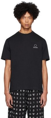 Études Black Wonder Logo T-Shirt