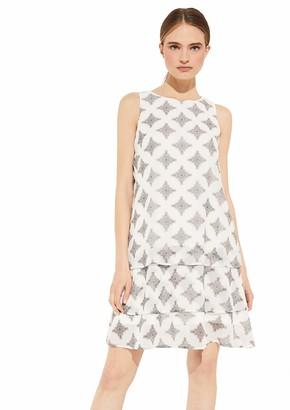 Comma Women's 8t.005.82.5708 Kleid Kurz Dress