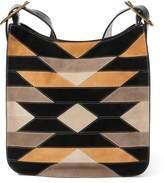Ralph Lauren Patchwork Lennox Messenger Bag