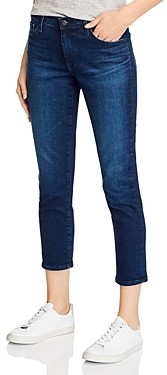 AG Jeans Prima High-Rise Crop Skinny Jeans in Valliant - 100% Exclusive